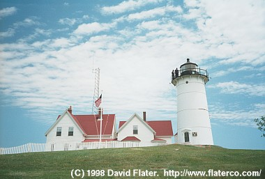 Nobska Light, Cape Cod, MA, 1998-06-17