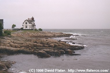 Prospect Harbor Pt. Light, Prospect Harbor, Maine, 1998-06-14