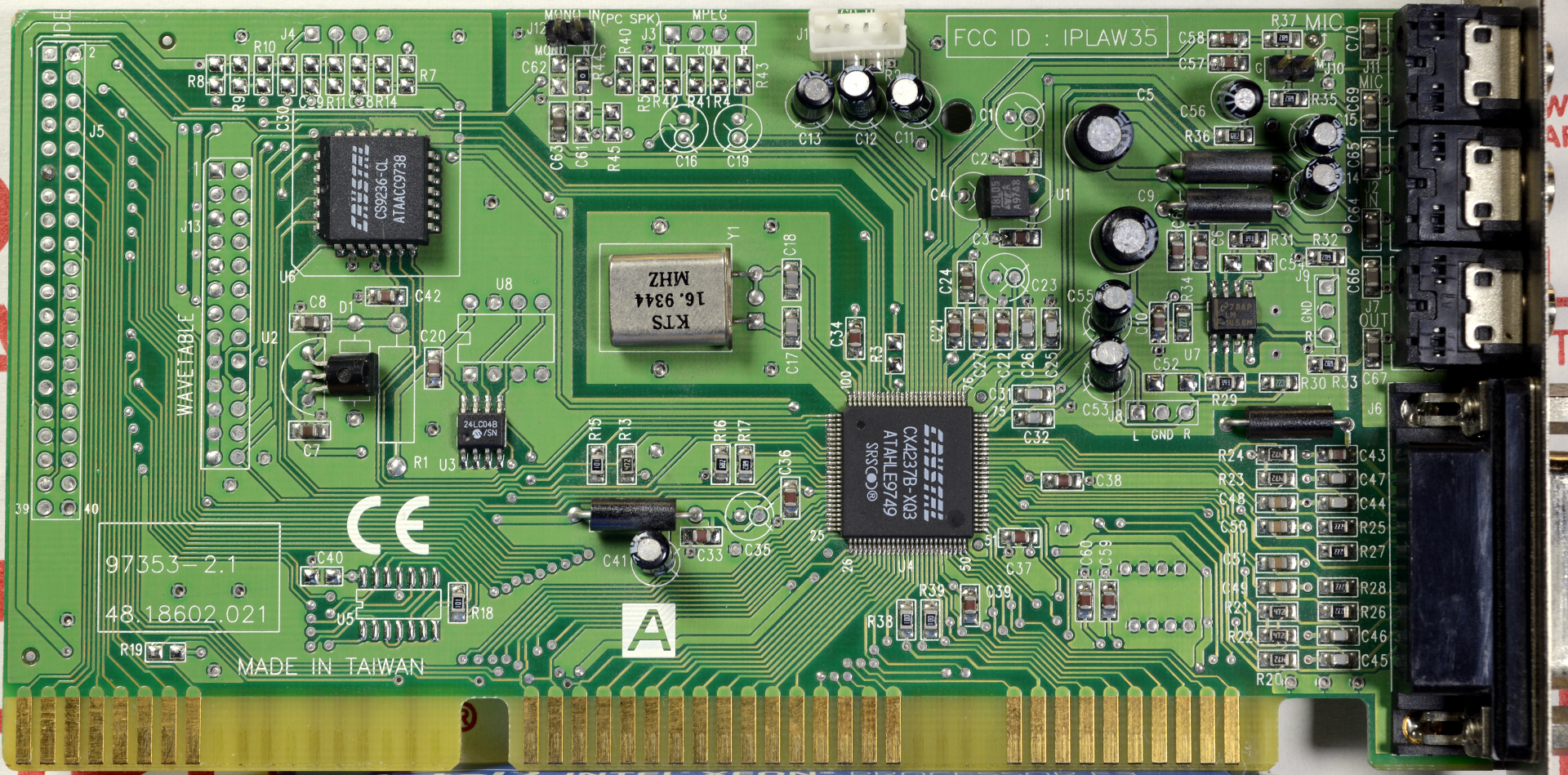 CIRRUS LOGIC Sound Card CS4236B 64Bit