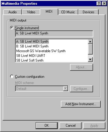 VOGONS • View topic - A few SB Live! MIDI Questions (CT4780