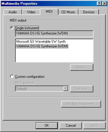 YAMAHA AC XG WDM AUDIO DEVICE DRIVERS FOR WINDOWS MAC